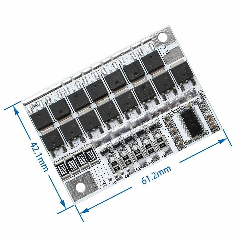 BMS 5S 25A 100A 21V 18V метр 5S уровень 18650 литий-ионный аккумулятор Батарея защиты печатной платы баланс зарядного устройства индикатор тестер DIY Kit