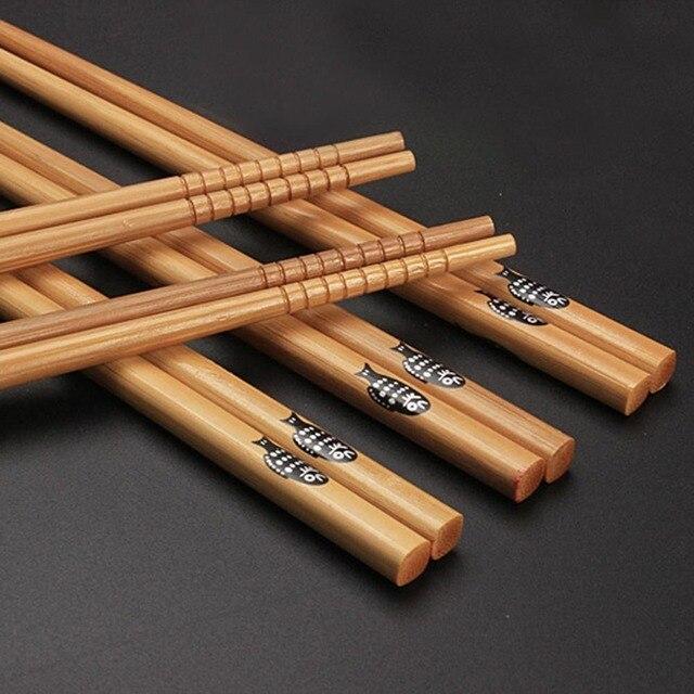 Фото чистые ручные деревянные палочки для еды из натурального бамбука цена