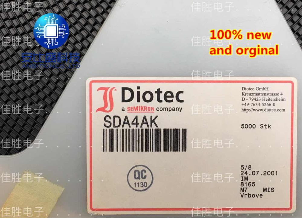 25pcs 100% New And Orginal  SDA4AK DO213AB Silk-screen SDA4AK In Stock