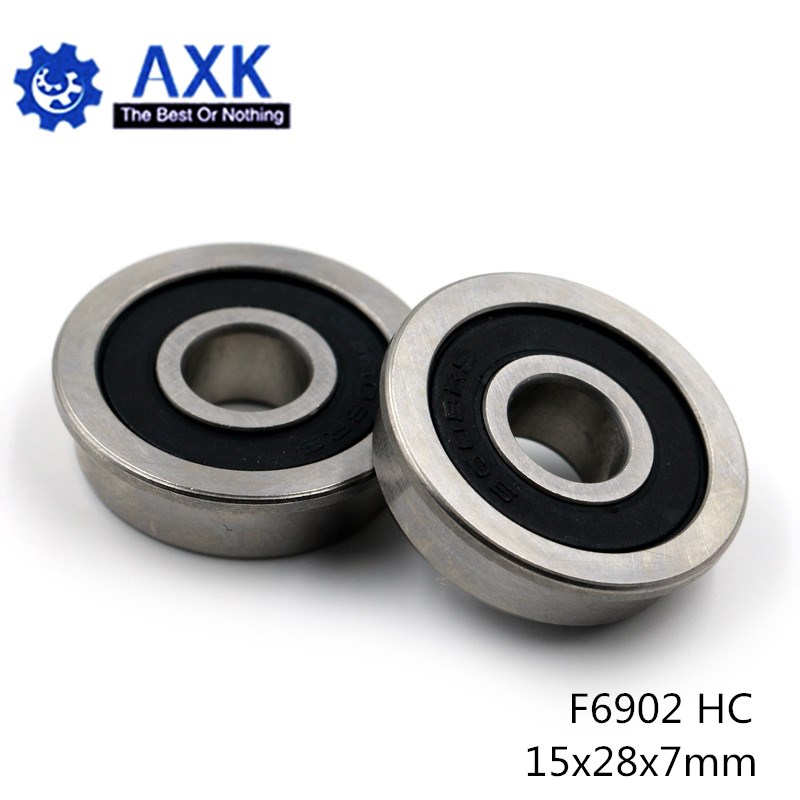 F6902 Hybride Keramische Lagers 15*28*7 Mm ABEC-1 ( 1 Pc) industrie Motor Spindel F6902HC Hybriden Si3N4 Kogellagers 3NC F6902RS