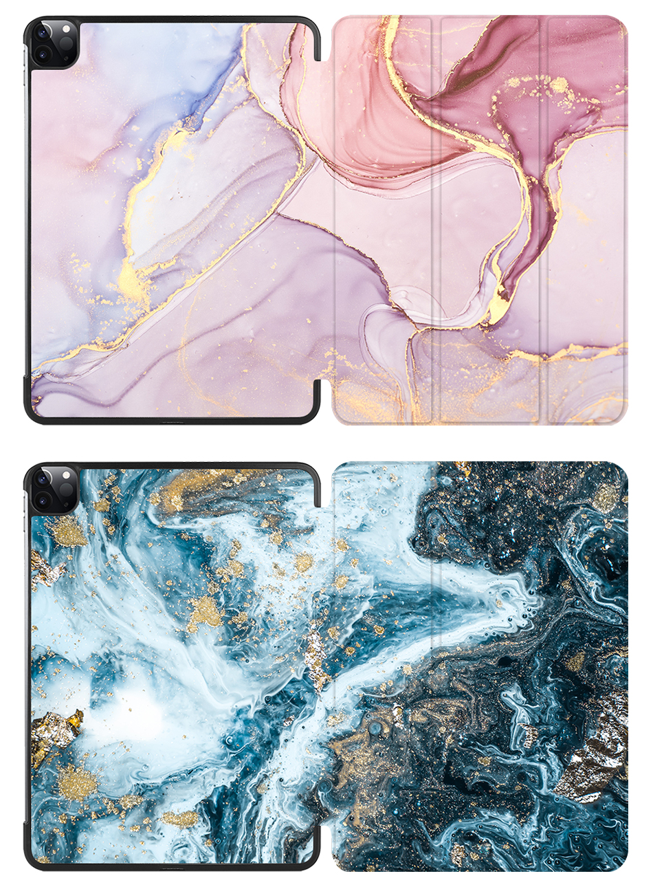 MTT Marble A2231 For PU Pro Tablet 11 2020 iPad inch Magnetic Leather Fold Case A2228