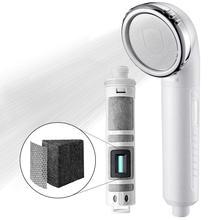 Miniwell فلتر الاستحمام رئيس لإزالة الكلور عالية الانتاج لتنقية مع الكربون المنشط للبشرة الصحية والشعر السلس