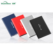 "Blueendless 2.5 ""External Hard Drive Disk 160GB 250GB 320GB 500GB 1TB HDD disco duro externo per il Computer Portatile/Mac/PS4/Del Computer(China)"