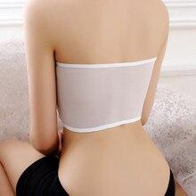 TJ-TingJun  Hot Spring And Summer Versatile lLace  Chest Wrap Back Mesh Gauze Girl Chest F1834 chest pocket wrap blouse