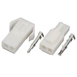 Image 4 - 10 takım EL 2P küçük tamiya elektronik konnektör 4.5mm aralık, EL 4.5 2P çok kutuplu konnektörler erkek ve dişi fiş + terminalleri
