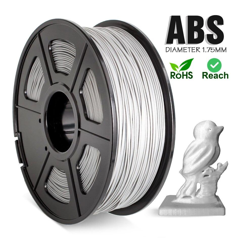 Пластик ABS нити 1,75 мм 1 кг/2.2LBS abs-волокно для 3D принтер 100% не образующая пузырей отличное качество для детей Создание