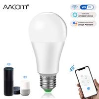 15W WiFi inteligente bombilla de luz ampolla LED E27 B22 inteligente Lámpara de trabajo con Echo Asistente de google alexa Control de voz