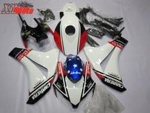 Motorcycle Fairing Kit For Honda CBR1000RR 2008-2011 Injection ABS Plastic Fairings CBR 1000RR 08-11 Gloss White Star Bodyworks