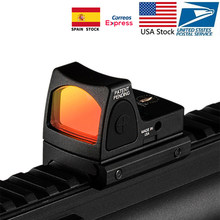 Saham AS Mini Rmr Red Dot Sight Collimator Glock Senapan Reflex Sight Lingkup untuk Airsoft Berburu Pistol(China)