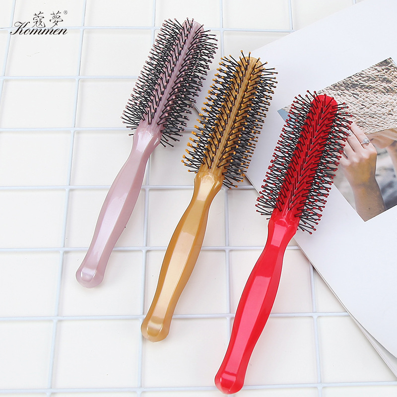 Tangle Teezer Plastic Needle Multi-Element Handle Modeling Hairdressing Comb High-temperature Resistant Anti-static Hair Brush