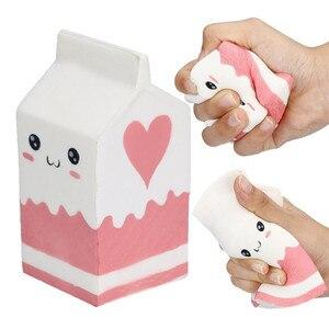 Jumbo Milk Carton Squishy Toys