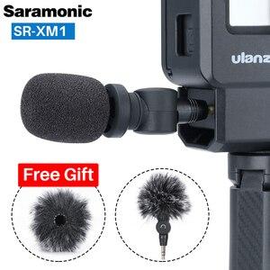 Image 3 - Saramonic SR XM1 3.5mm Wireless Microphone GoPro Vlog Video Mic for GoPro Hero 9 8 7 6 5 DJI Osmo Action Osmo Pocket