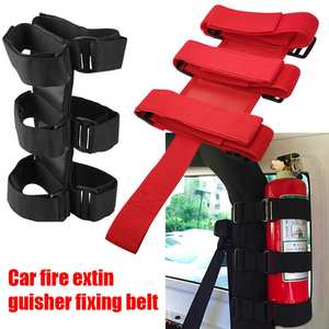 Belt Car-Accessories Roll-Bar Fire-Extinguisher-Holder JK Jeep Wrangler Oxford TJ JL