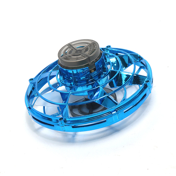 FLYING GYRO Fly Nova Glowing Drone UFO Anti-collision Fly Helicopter The Most Tricked-out Flying Spinner Best Gift For Child Kid