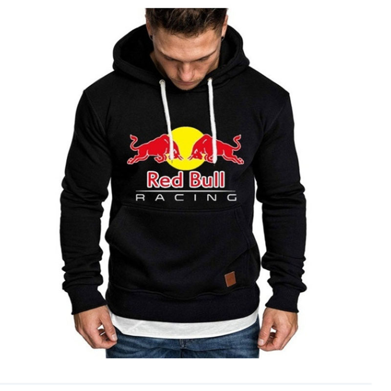 Fitness Hoodies Tops Pullover Mens Sweatshirts BULL Outdoor Sports RED Men's Plus-Size