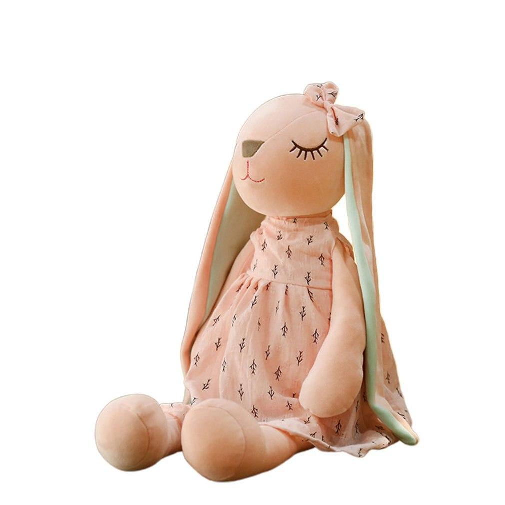 Cute Cartoon Long Ears Rabbit Doll Baby Soft Plush Toys For Children Rabbit Sleeping Mate Stuffed Plush Animal Toys Infants