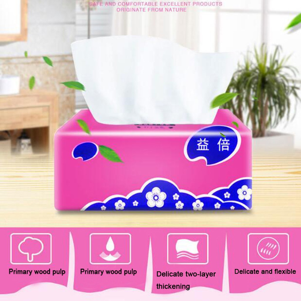 Soft Toilet Paper In Stock 10Packs Draw Paper Towels Family Paper Cleaning Paper Towel Tissue Fast Shipping Drop Shipping ##4