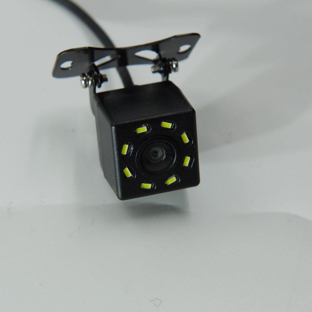 BYNCG Автомобильная камера заднего вида, 4 светодиодный, ночное видение, Реверсивный, Авто парковочный монитор, CCD, водонепроницаемая, 170 градусов, HD видео - Название цвета: 103 LED no 6M
