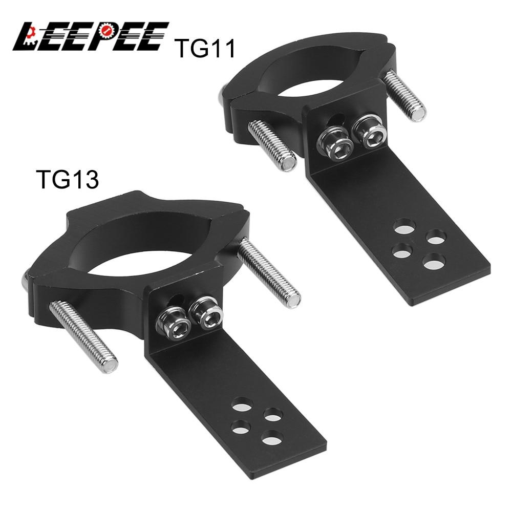 TG11/TG13 Motorcycle Headlight Bracket Spotlight Holder Universal Mount Adjustable Clamp Motorcycle Accessories Aluminum Alloy