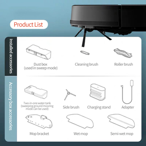 Image 5 - Xiaomi mijia varrendo esfregar robô styj02ym mi aspirador de pó para casa automático poeira esterilizar inteligente planejado wifi controle app