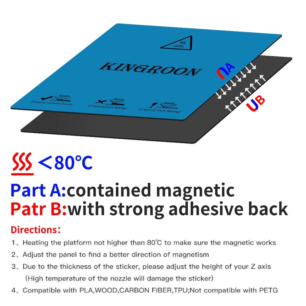 2 camada impressão heatbed etiqueta impressora 3d
