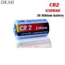 1 pces 3v 850mah cr2 cr15h270 cr15266 bateria de lítio cr2 para lanterna sistema de alarme rangefinder medidor de água bateria seca primária