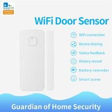 EWelink สมาร์ท WiFi เซ็นเซอร์ประตูประตูเปิด/ปิดเครื่องตรวจจับ Action อื่นๆสวิตช์ WIFI APP