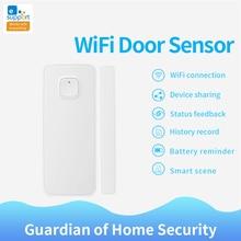 Смарт детекторы открытия/закрытия двери eWelink с другим переключателем Wi Fi в приложении