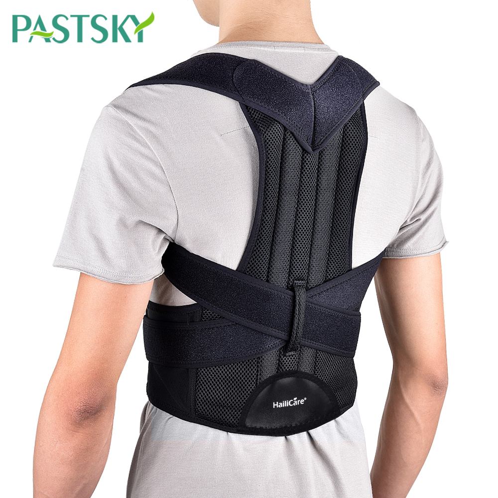 Adjustable Back Posture Corrector Shoulder Brace Lumbar Support Spine Belt Adult Corset Correction Body Health Care