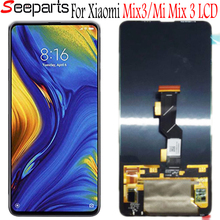 """シャオ mi mi mi × 3 液晶 mi x3 ディスプレイのタッチスクリーンデジタイザアセンブリのための 6.3 """"シャオ mi mi mi X3 液晶黒交換"""