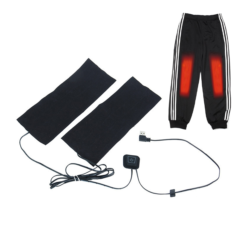 Electric Heated Pads USB Rechargeable Pants Waistcoat Heating Trouser Legs Arm Warm Washable Pads Warm Mat For Tablet Sheet