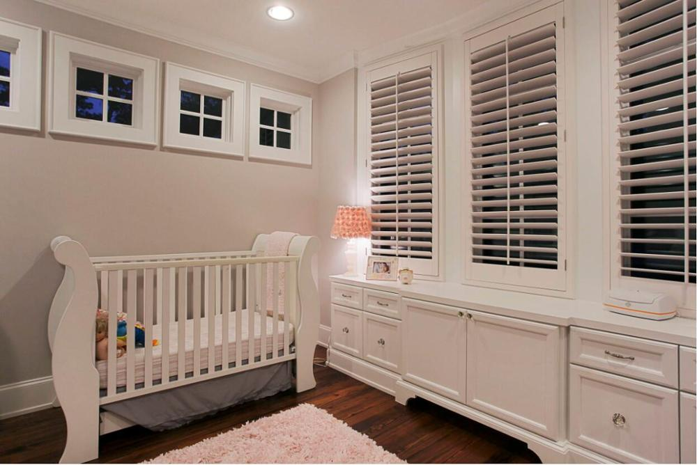 Custom Basswood Plantation Shutters Wooden Blinds Solid Wood Shutter Louvers PS260