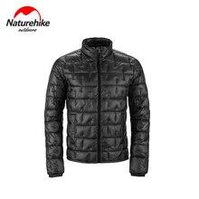 Naturehike 95% белый гусиный пух пальто 1000FP Водонепроницаемая теплая верхняя одежда Сверхлегкая портативная одежда для активного отдыха, кемпинг...