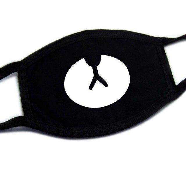 Cartoon mask on the mouth anime masque Anti-fog mouth face mask filter dust masks Double cotton fabric facial maske mascarilla 5