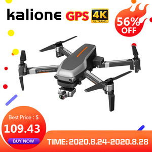 "Image 1 - L109 פרו GPS Drone 4K זום מצלמה שני ציר אנטי לנער יציב Gimbal 5G WIFI RC quadcopter מסוק מקצועי Selfie ""טים"