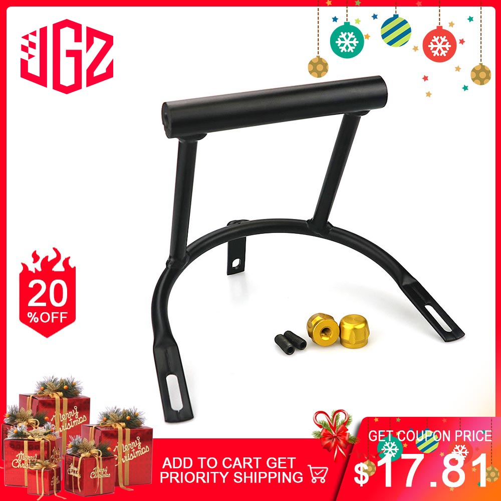 Motorcycle Aluminum Navigation Plate Bracket Holder GPS Phone Stand Handle Frame for <font><b>YAMAHA</b></font> <font><b>NMAX</b></font> <font><b>155</b></font> 2017 2018 2019 Modified image