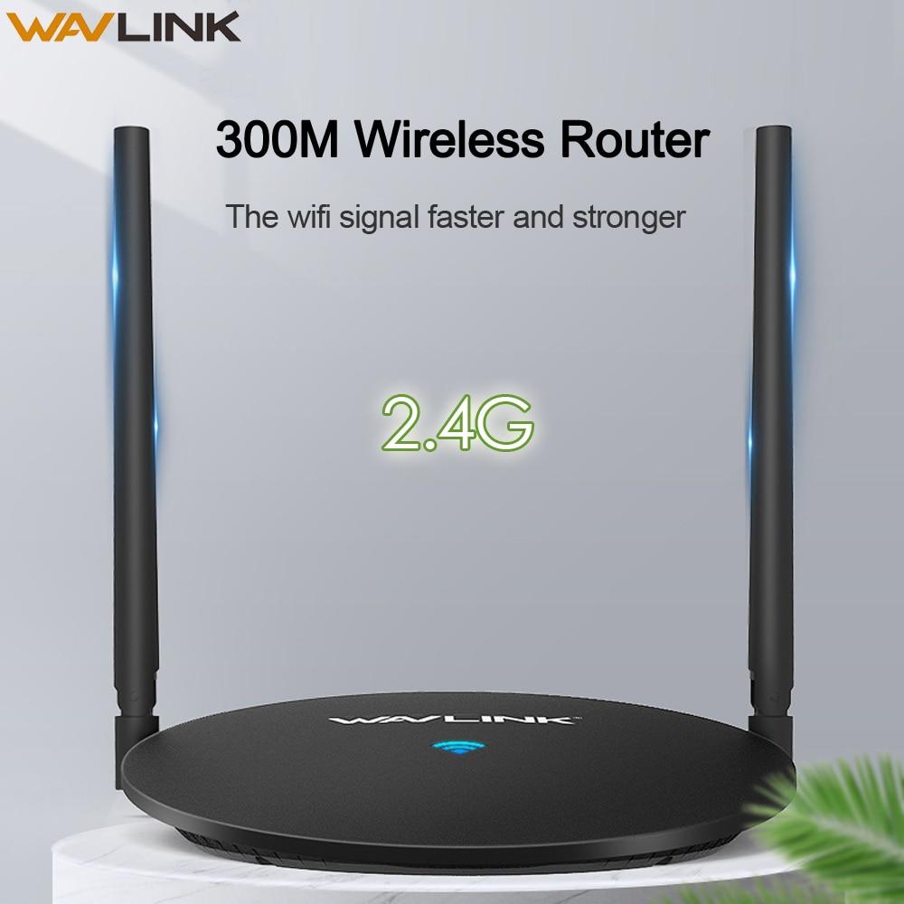Wavlink N300 Wireless Wi Fi Router Wifi Amplifier Wi-Fi Router AP 2.4Ghz 300mbps WiFi Range 5dBi Omni Directional Antennas WPS