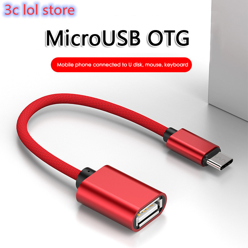 Otg-Cable Usb-Adapter Samsung-Phone Type-C Micro-Usb Xiaomi Redmi To  title=