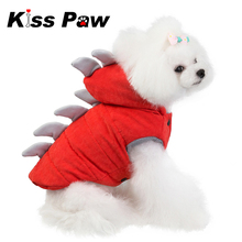 Cute Dinosaur Animal Dog Jacket Winter Pet Clothes Funny Halloween Costume Puppy Yorkshire Terrier Chihuahua Clothing Outfit