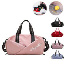 Женская спортивная сумка, спортивная сумка для фитнеса, тренировочные сумки для обуви, Дорожный Коврик для сухой и влажной йоги, Mochila Sporttas