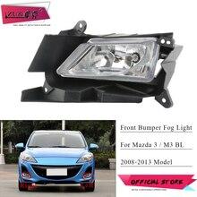ZUK Front Bumper Fog Light Fog Lamp Foglight Anti-Fog Reflector For Mazda 3 M3 BL 2008 2009 2010 2011 2012 2013 Sedan Hatchback