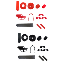 Scooter Protection Kit Anti-Collision Strip Disc Brake Cover for Xiaomi M365