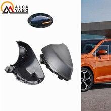 цена на For VW Volkswagen Polo MK5 Facelift 6C 14-17 6R 2009-2013 LED Side Wing Rearview Mirror Dynamic Turn Signal Indicator Blinker