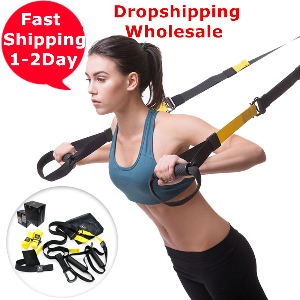 High Quality Exercise Resistance Bands Set Hanging Training Straps Workout Sport Home Fitness Equipments Spring Exerciser