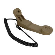 Baofeng Kenwood walkie-talkie 2 pin Shoulder microphone ptt Military handheld speaker microphone baiston bst 32 iron clamp handheld microphone for walkie talkie silver