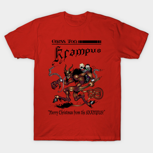 Merry Christmas From The Krampus! Men's T Shirt