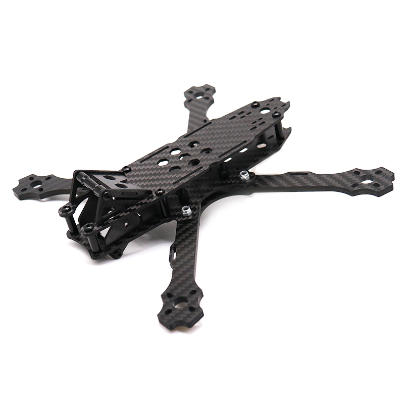 TCMMRC 5 Inch FPV Drone Frame Avenger 215 Wheelbase 215mm 4mm Arm Carbon Fiber for RC Racing FPV Drone Frame Kit in Parts Accessories from Toys Hobbies