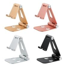 Desktop Mobile Phone Holder Stand, Cradle, Dock, Phone & Tablet Holder, Aluminum Adjustable Desktop Stand