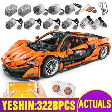 Bricks Car-Building-Blocks Christmas-Toys Mould King Motor-Function 20087 Kid Compatible