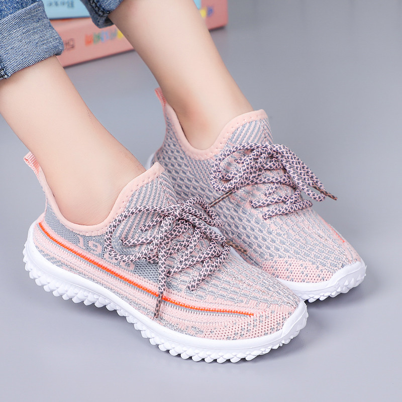 2020 New Chlidren Shoes Breathable Mesh Kids Shoes For Boys Lightweight Running Sports Girls Shoes Chaussure Enfant
